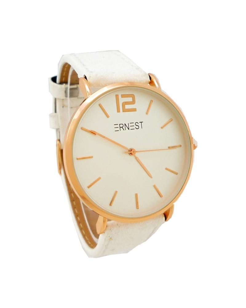 Dámské hodinky Ernest Jolly bílé 743D