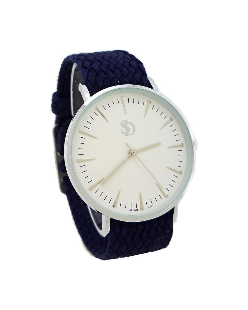 Dámské hodinky SD Monny stříbrno-modré 611D