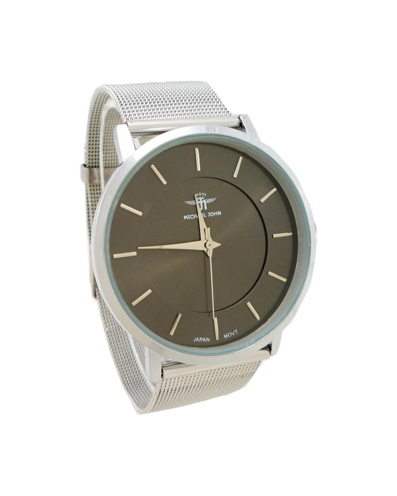 Dámské hodinky Michael John Well stříbrné 679ZD