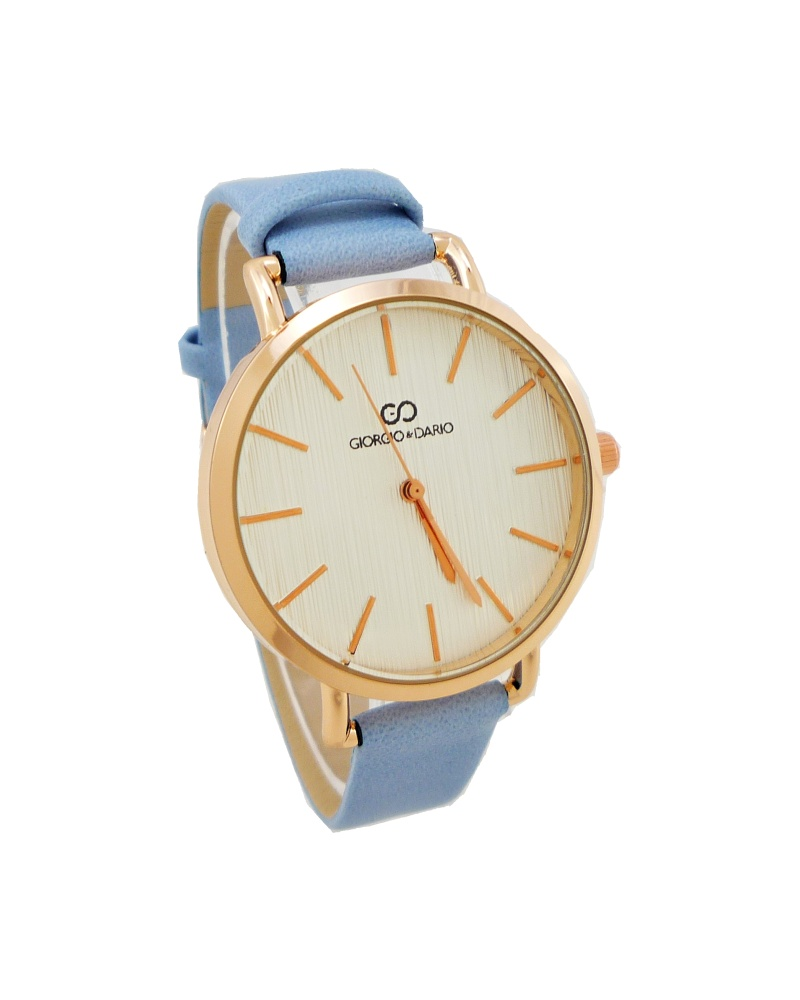 Dámské hodinky Giorgio Dario Merry bronzovo-modré 763D