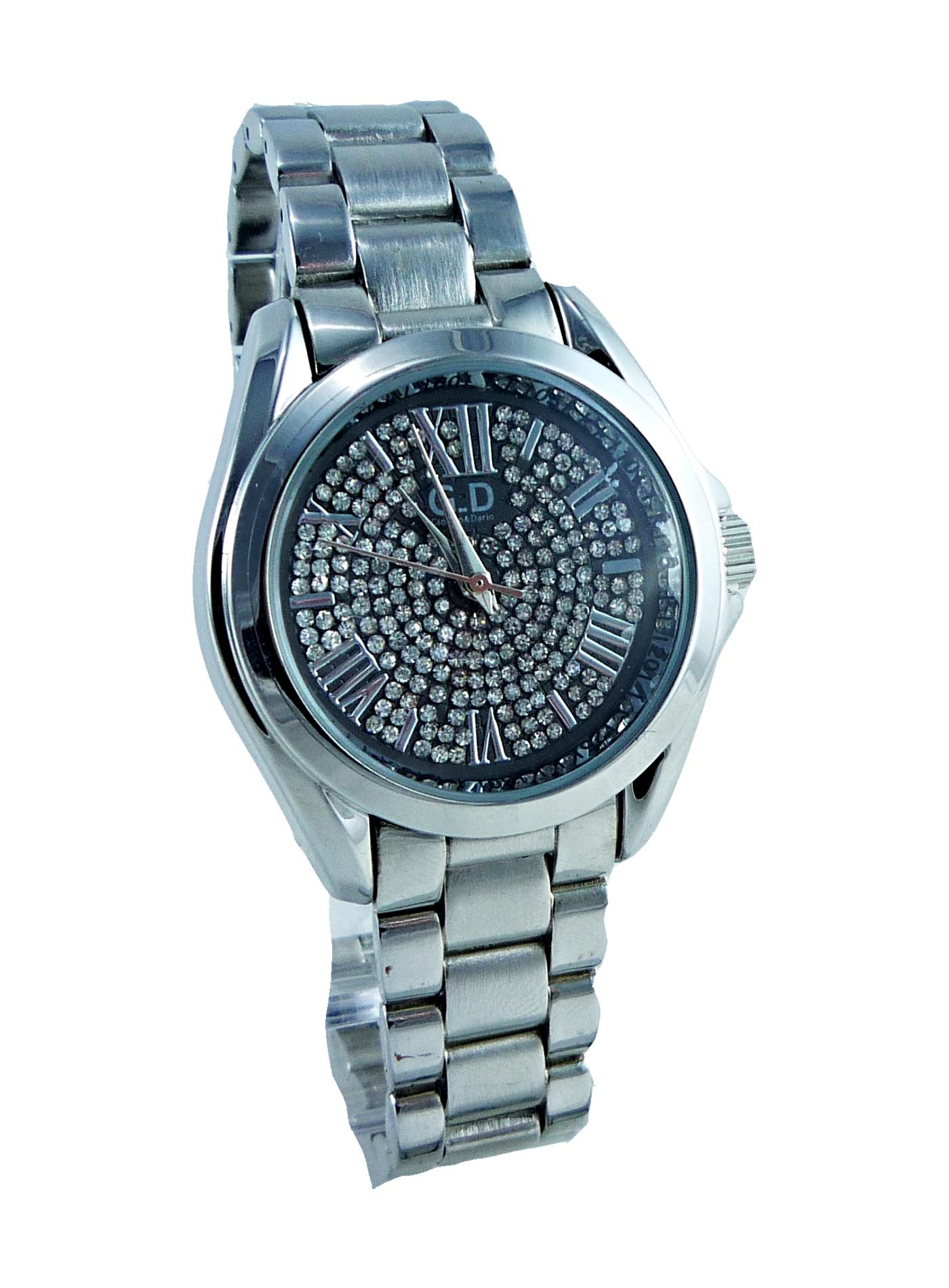 Dámské stříbrné hodinky GD Silver Extra 045D