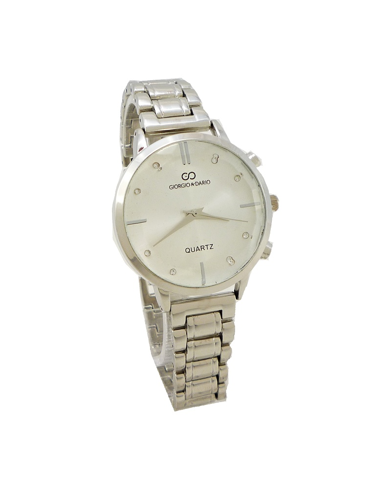 Dámské stříbrné hodinky Giorgio Dario Karol stříbrné 693ZD