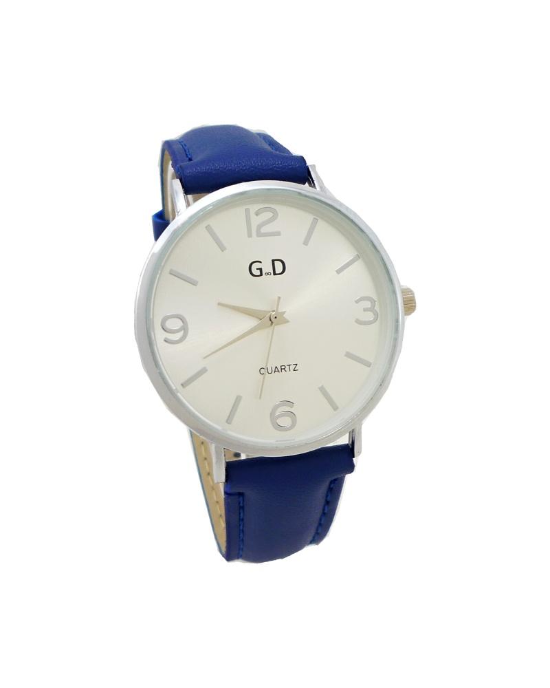 Dámské hodinky G.D Seinny stříbrno-modré 698ZD