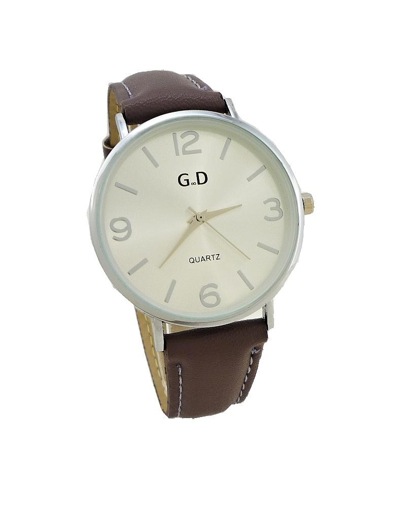 36e20810831 Dámské hodinky G.D Seinny stříbrno-fialové 697ZD