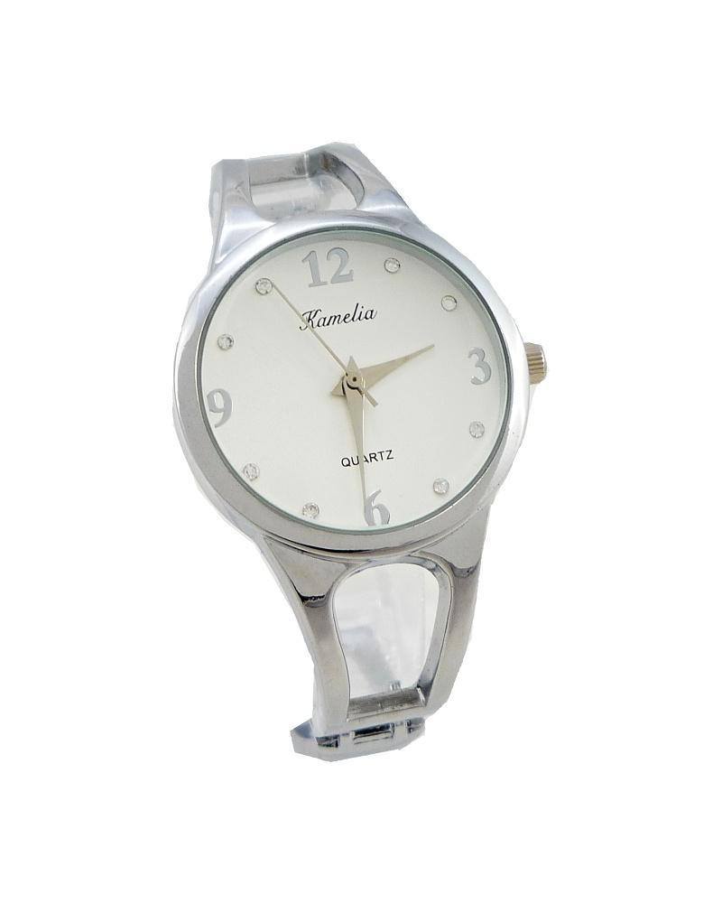 Dámské hodinky Kamelia Jolly stříbrné 677D