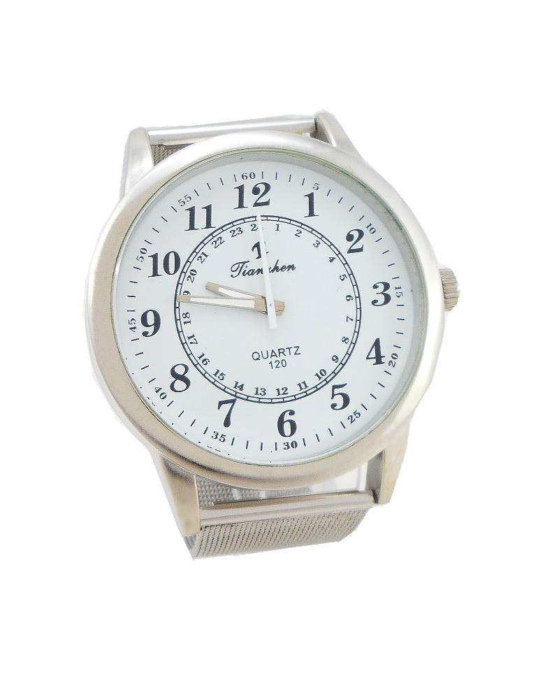 Dámské hodinky Tianhen Well stříbrné 547ZD