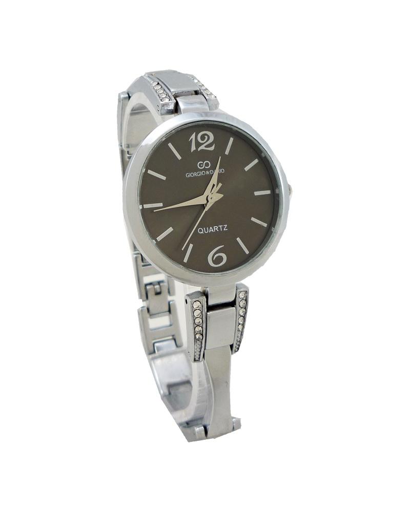 Dámské hodinky Giorgio šedo-stříbrné 717ZD