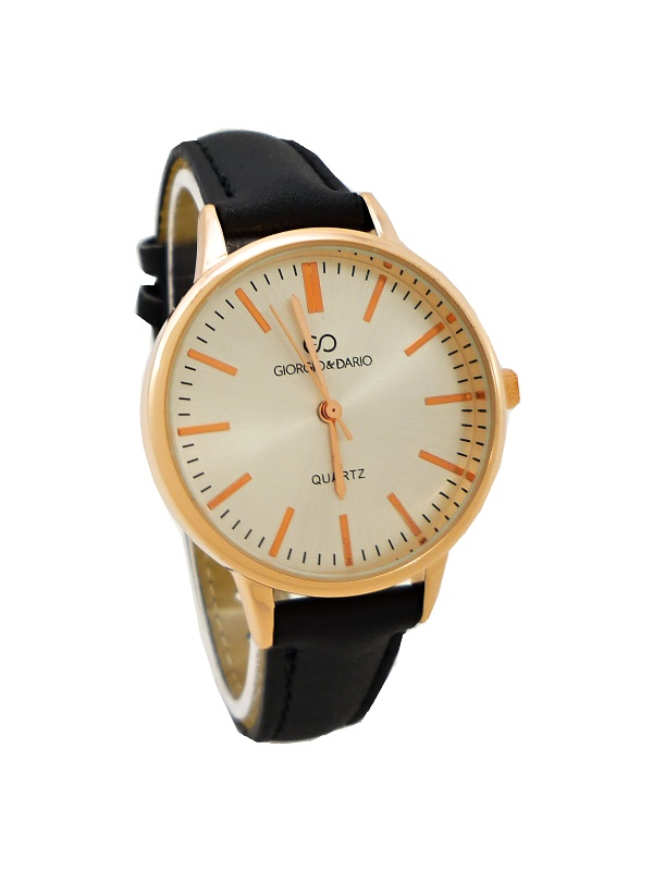 a050416d43f Dámské hodinky John Minty černé 796D