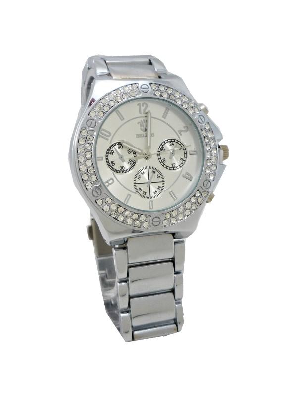 Dámské hodinky BELLOS Katty stříbrné 817ZD