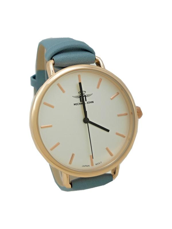 Dámské hodinky John Tolly bronzovo-modré 735ZD