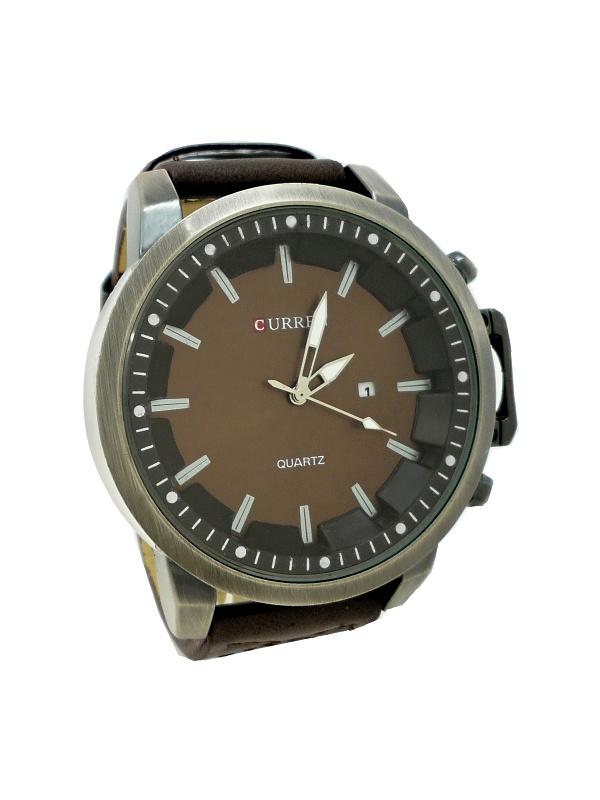 Pánské hodinky Curren Simply hnědé 353P f79fd31079c