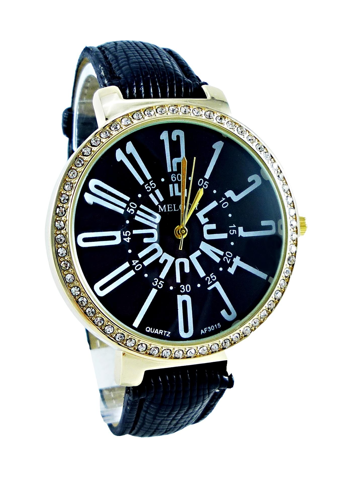 Dámské hodinky G.D MELODY Gold black 036D