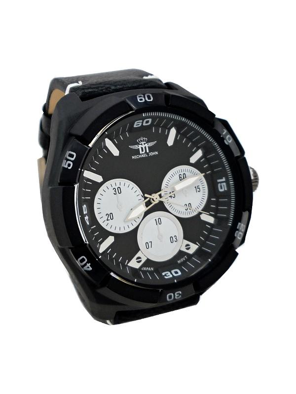 Pánské hodinky John Fascino černé 372P f0e1d0ca81
