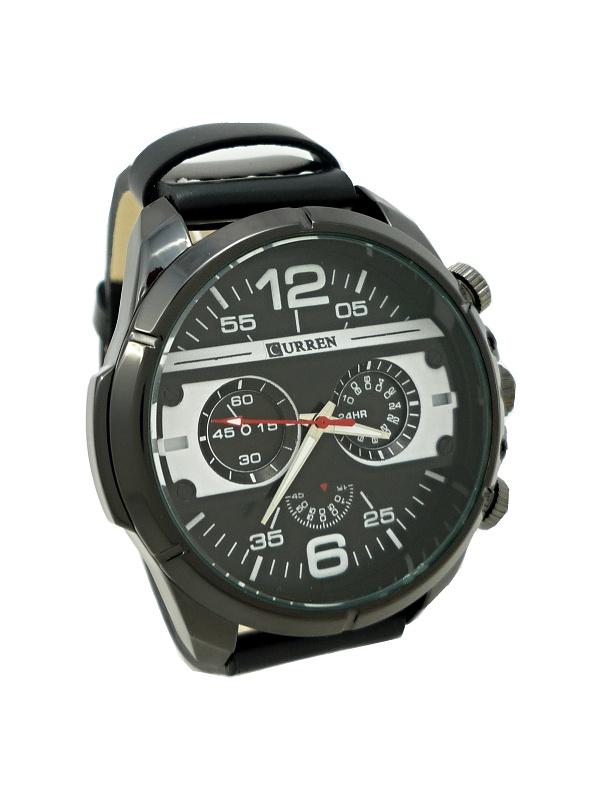 Pánské hodinky Curren extravagans černé 371P 6ffa02f90d