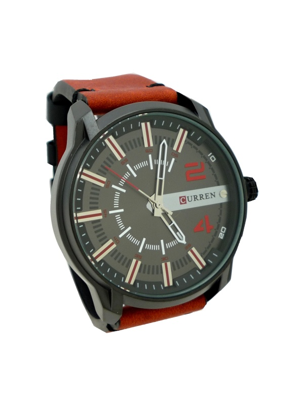 663192eaecf Panske hodinky curren cerny cifernik levně