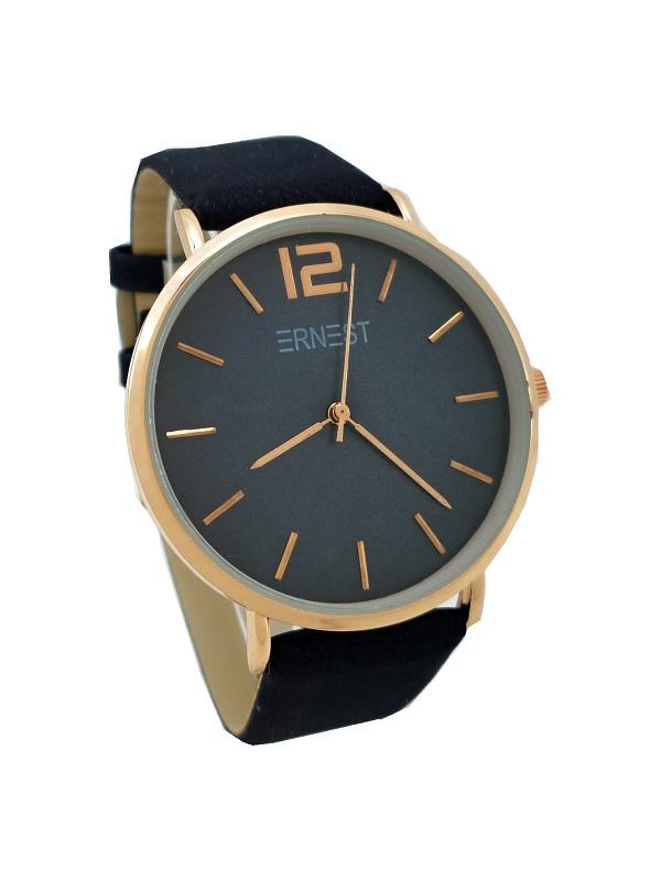 Dámské hodinky Ernest Jolly tmavě modré 752D 1b0ec78c49