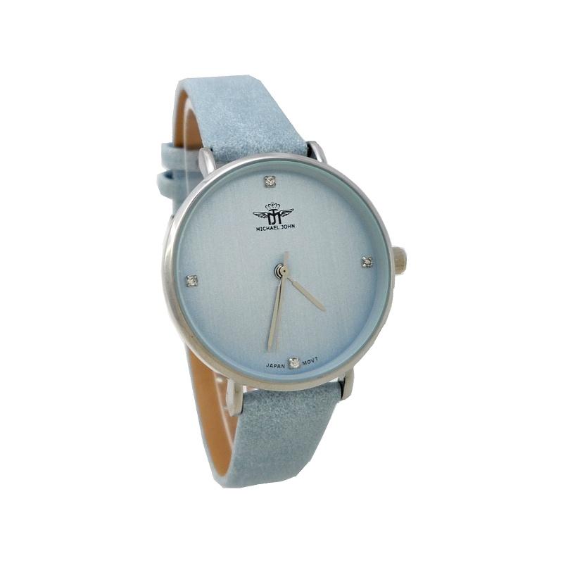 Dámské hodinky John Monne světle modré 722ZD