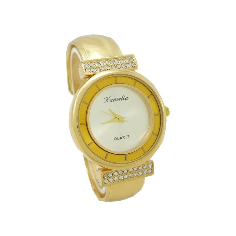 Dámské hodinky Kamelia Ankyi zlaté 803D b88427da81