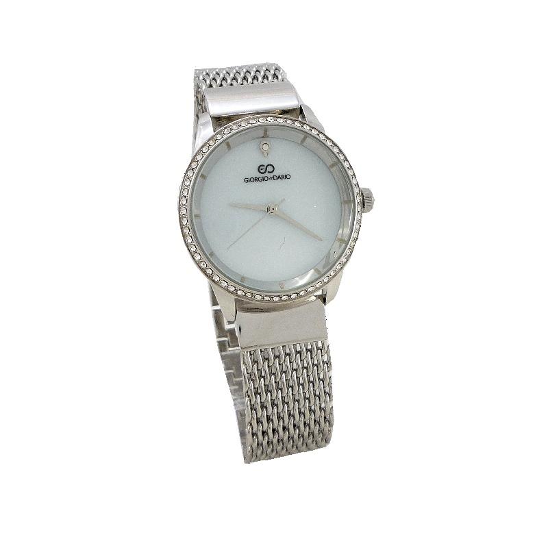 Dámské hodinky Giorgio Dario Bell stříbrné 657D