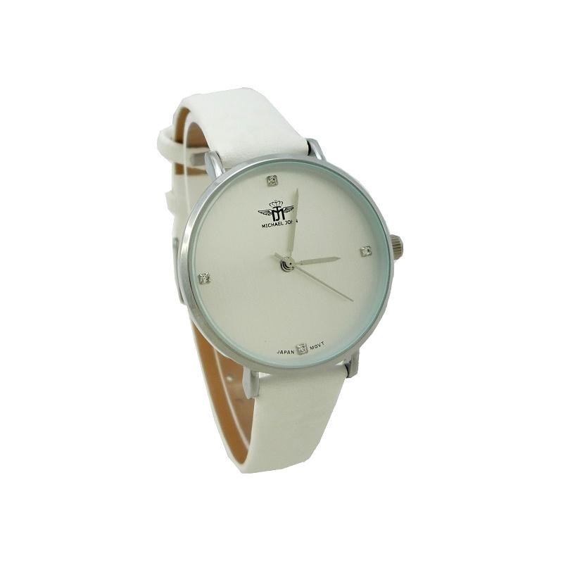 Dámské hodinky John Monne bílé 721ZD  82275f57a3