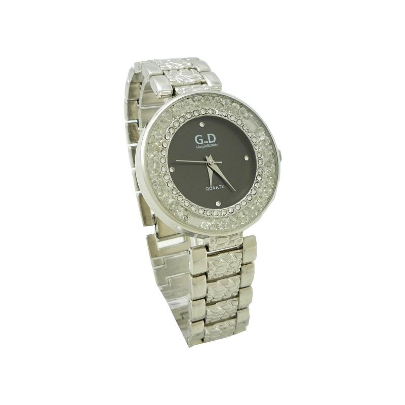 Dámské hodinky G.D Long stříbrné 678ZD