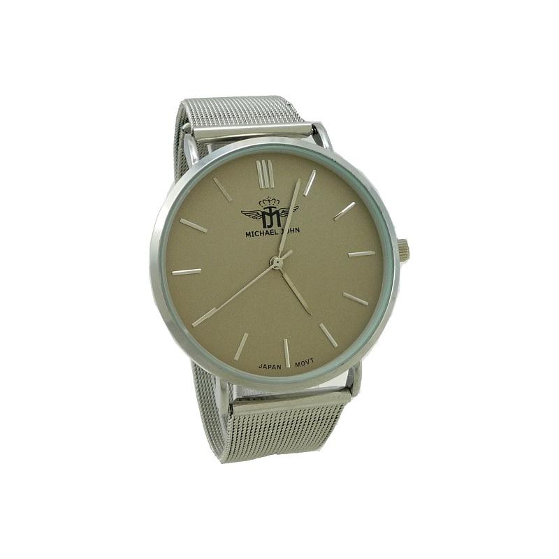 Dámské hodinky John Nelly stříbrné 914ZD