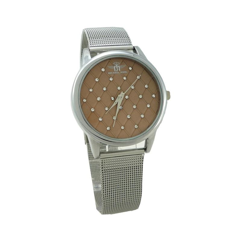 Dámské hodinky John Galdy stříbrné 904ZD