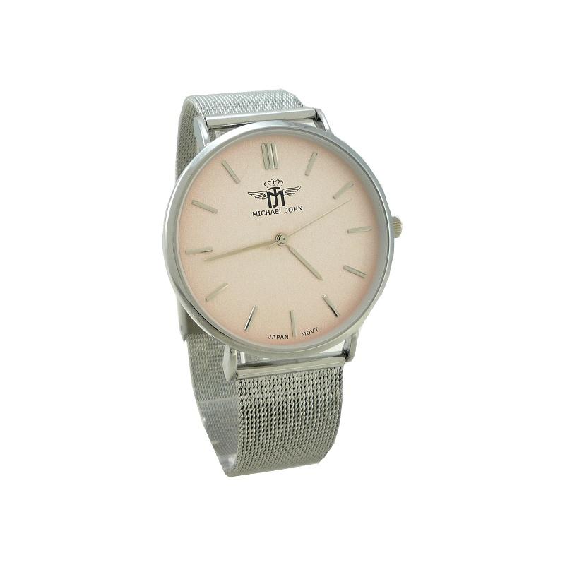 8e1751436 Dámské hodinky John Nelly růžovo-stříbrné 915ZD | thodinky.cz