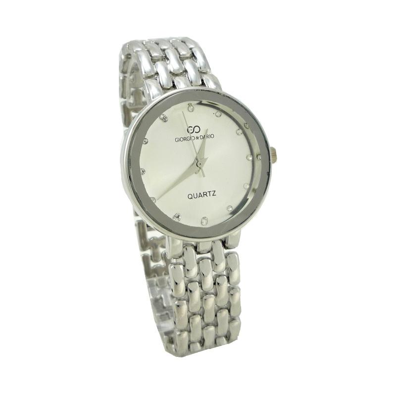 Dámské hodinky Giorgio Dario Caroli stříbrné 802D