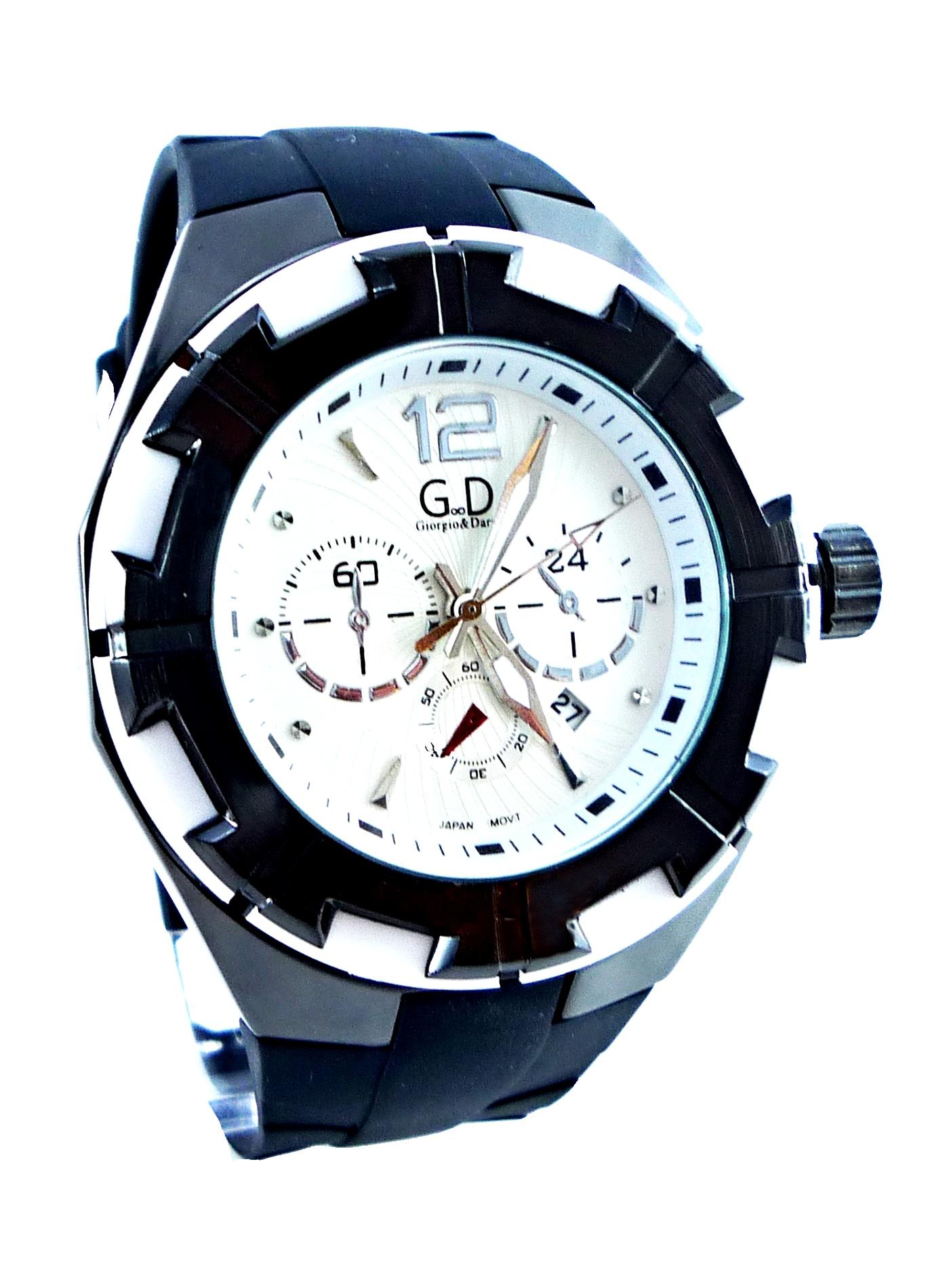 Pánské sportovní hodinky GD Sport black 083P