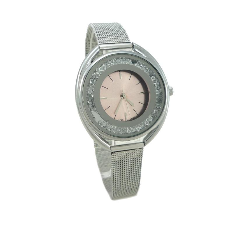 Dámské hodinky G.D Datty stříbrné 898ZD  e355e9db9a