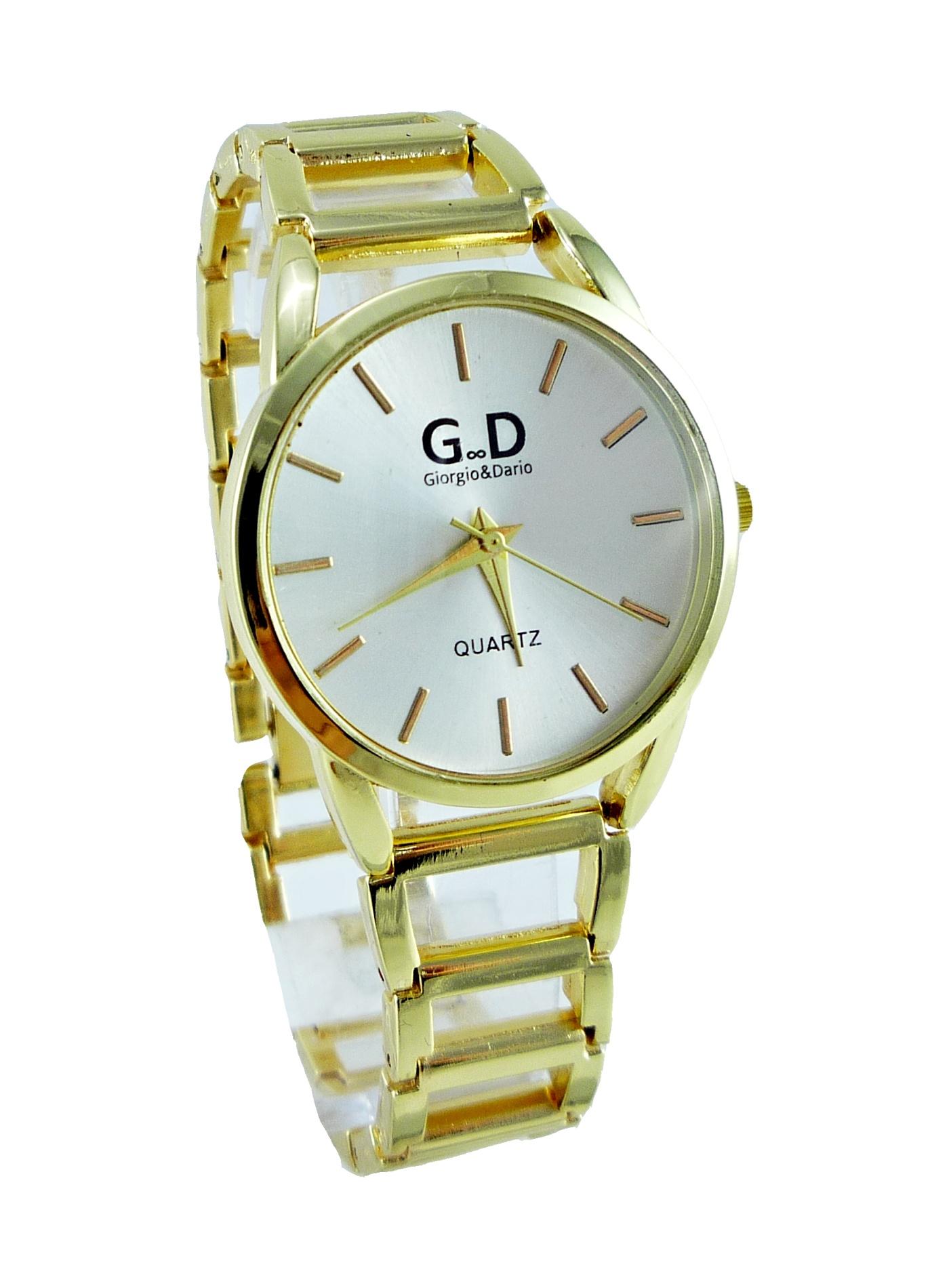 Dámské zlaté hodinky GD Golden styl 178D