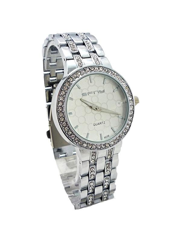 Dámské hodinky SFNY s kamínky 186D