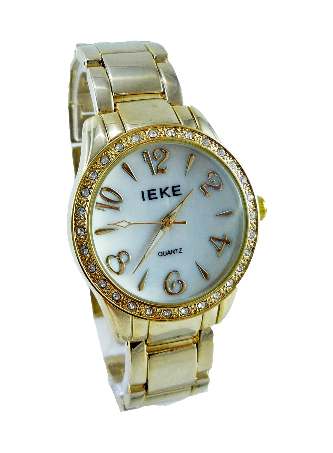 Dámské hodinky IEKE Temply zlaté 189D 106a582c85