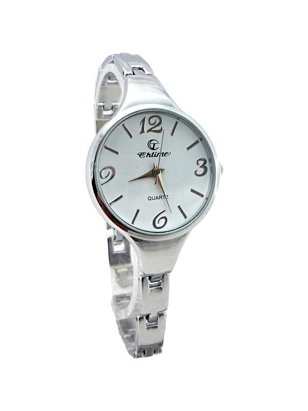 Dámské stříbrné hodinky CHTIME Silver Elegant 203D