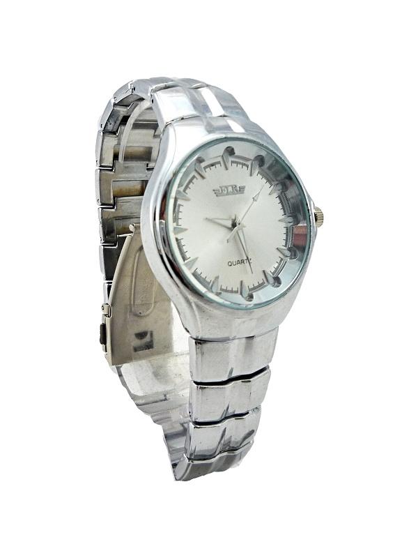 Dámské stříbrné hodinky FLR Silver elegant 046D