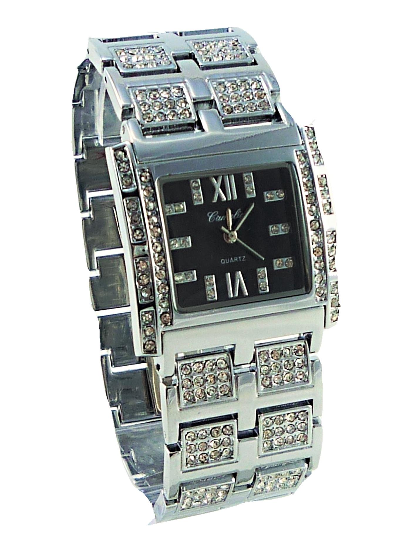Dámské hodinky Camelia stříbrné 123D