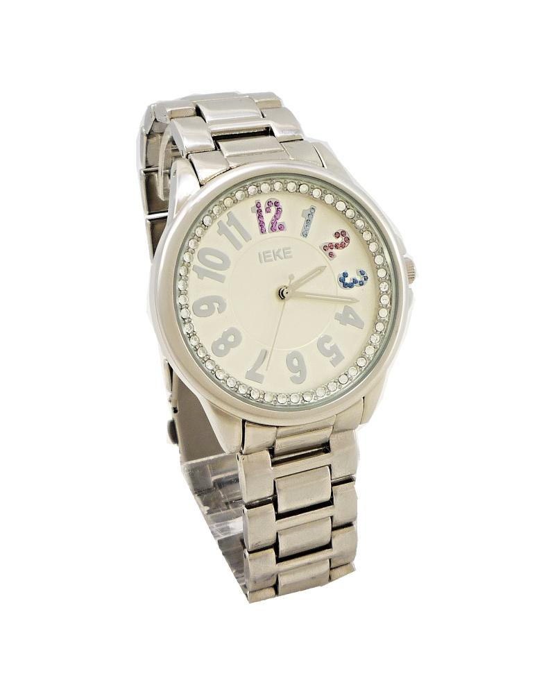 Dámské hodinky IEKE Simply stříbrné 091D