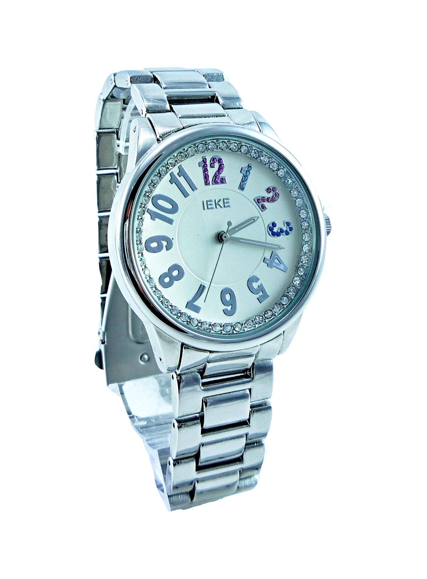 Dámské stříbrné hodinky IEKE Silver white 091D