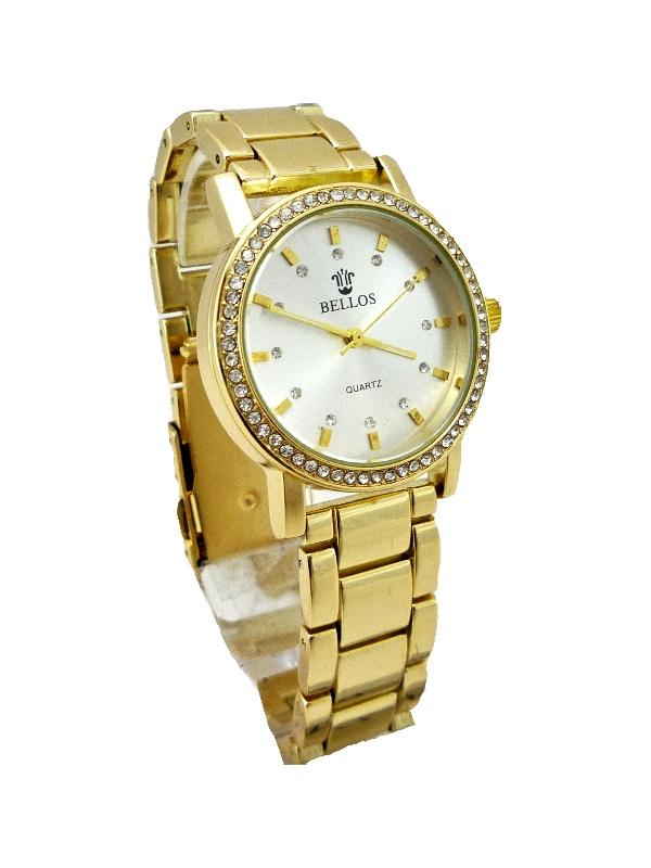 Dámské zlaté hodinky Bellos Elegants 150D