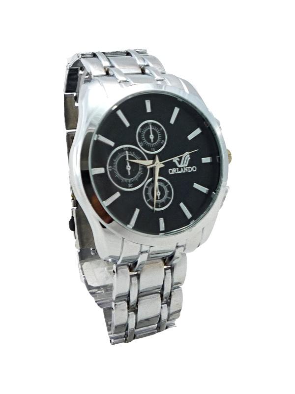 Pánské elegantní hodinky Orlando černé 046P