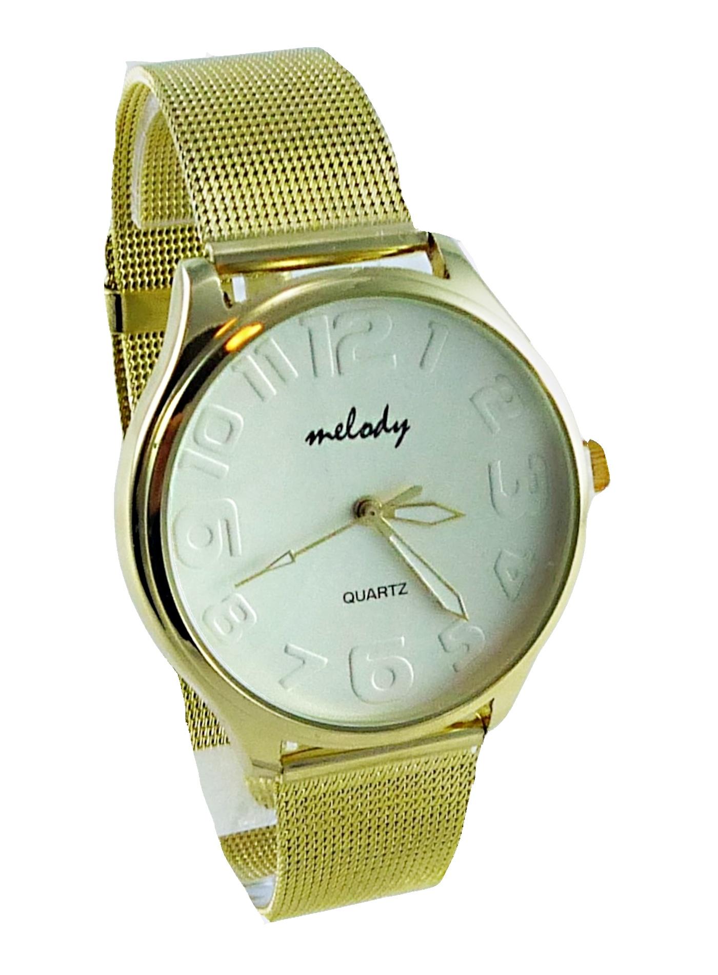 Zlaté dámské hodinky Melody 094D