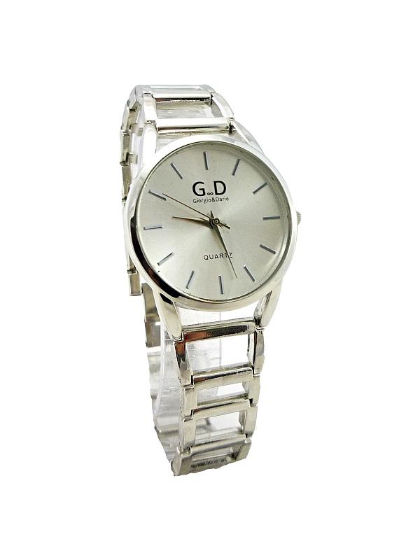 Dámské stříbrné hodinky GD Silver styl 086D