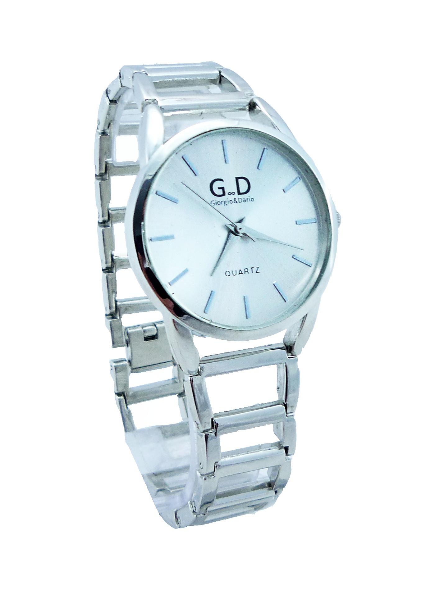 Dámské zlaté hodinky GD Silver styl 086D