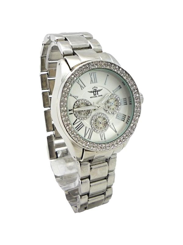 Dámské stříbrné hodinky JOHN Silver extra 092D