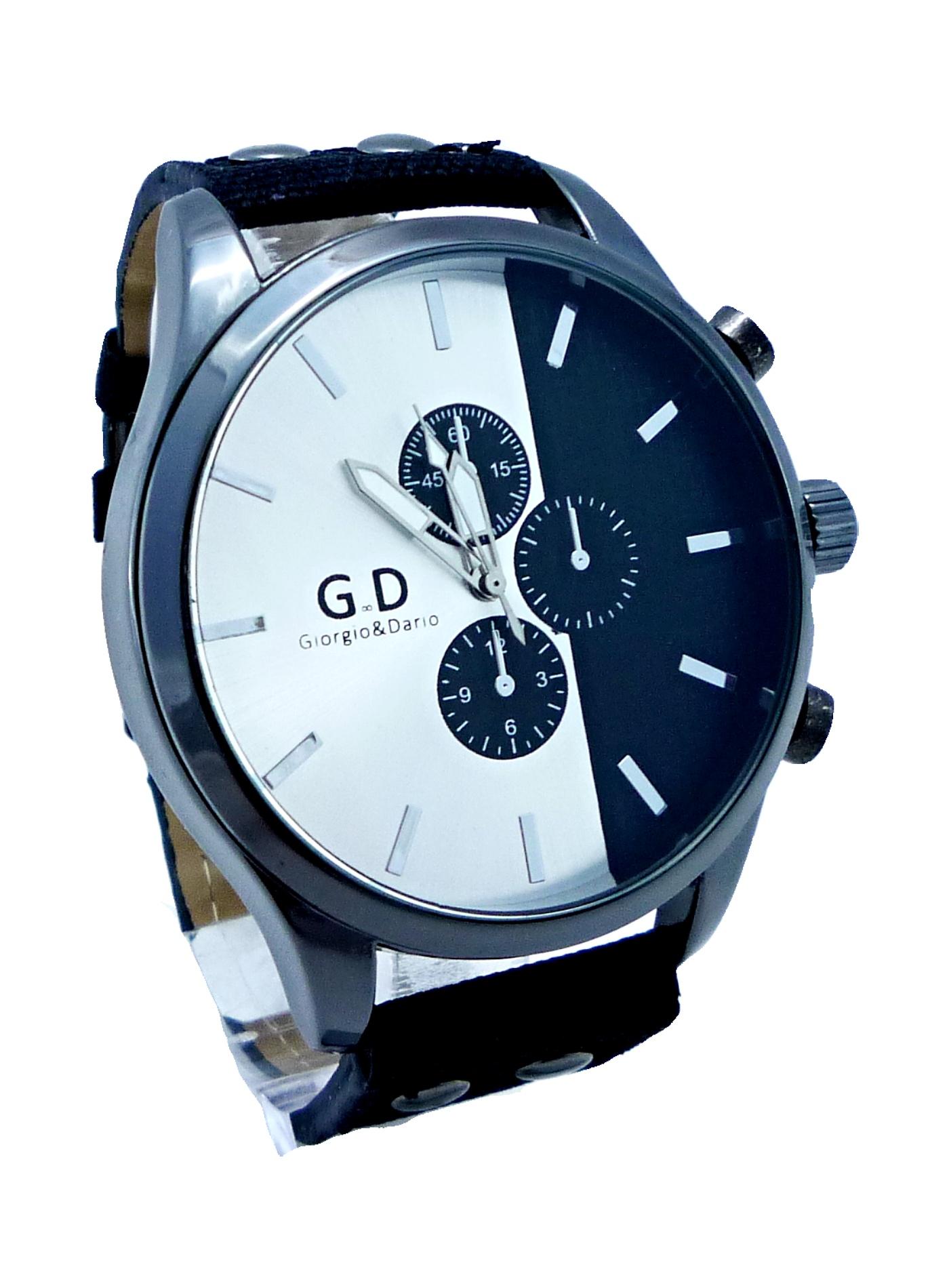 Pánské hodinky G.D Black silver 011P 4746810880