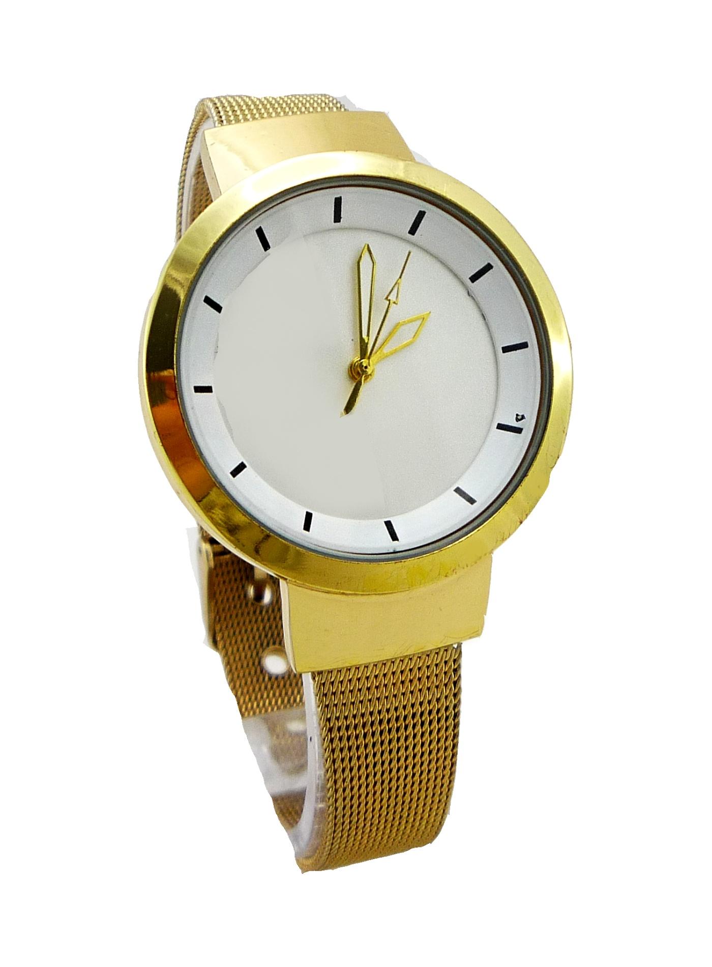 Dámské zlaté hodinky GD Elegant Gold 201D