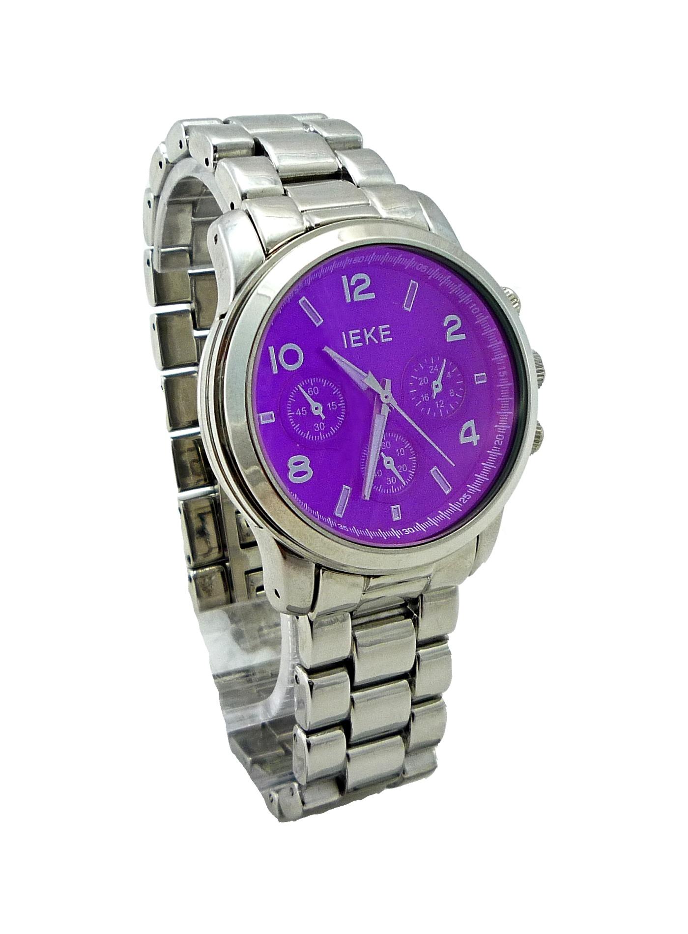 Dámské hodinky IEKE Prote stříbrné 130D
