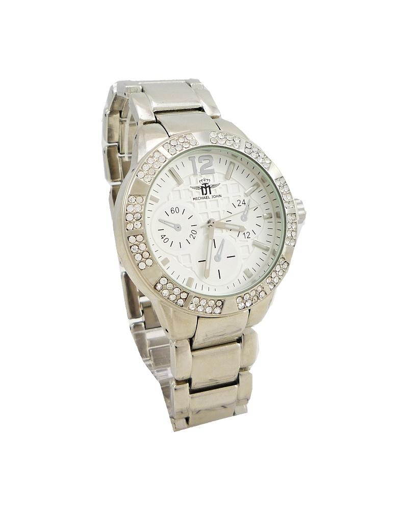Dámské stříbrné hodinky John Extravagans 108D