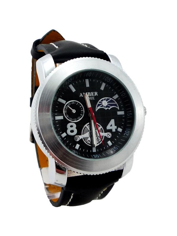 Pánské hodinky AMBER černé 210P